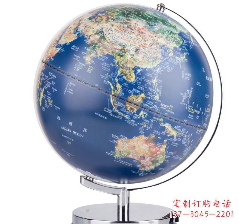 不锈钢广场地球仪雕塑
