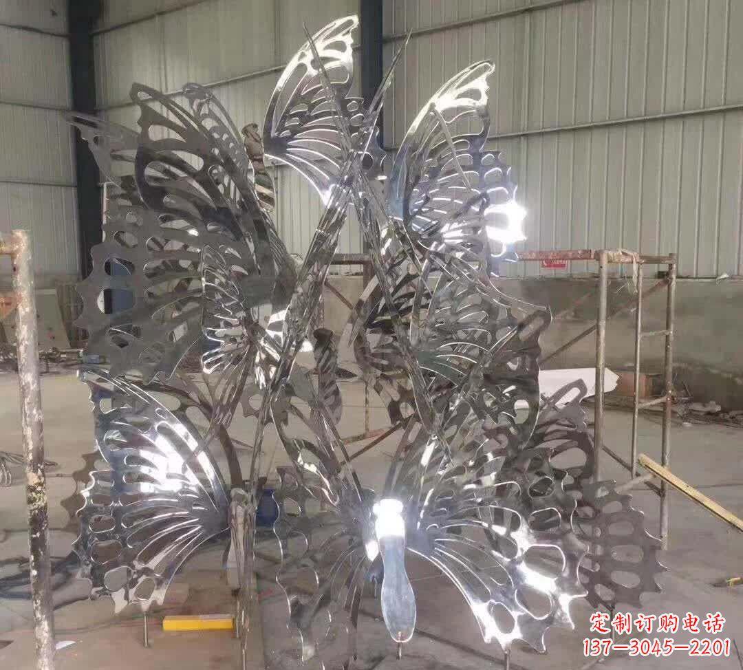 不锈钢艺术造型景观雕塑