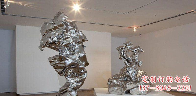 抽象不锈钢创意雕塑