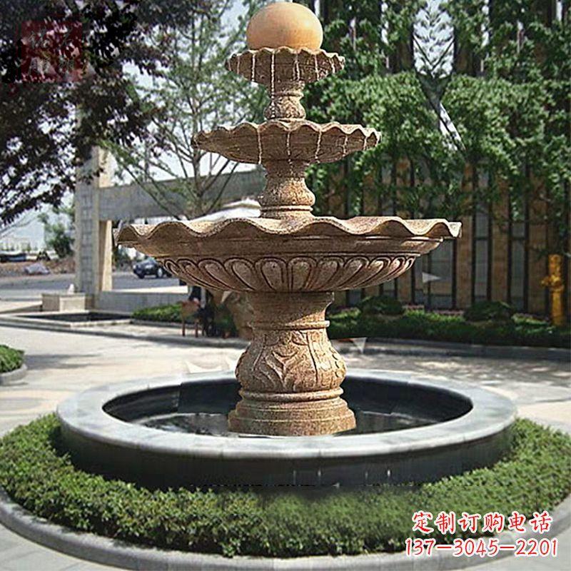 个性景观喷泉石雕